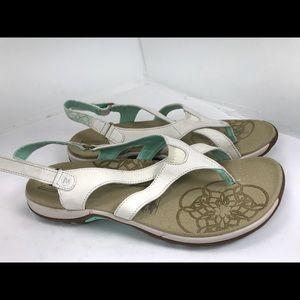 Merrell honeysuckle ivory white sport sandals 10